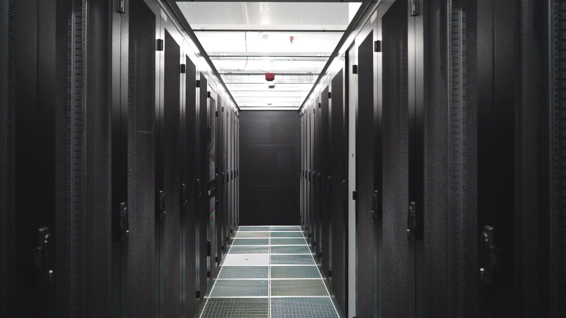DUS1 modernstes Rechenzentrum