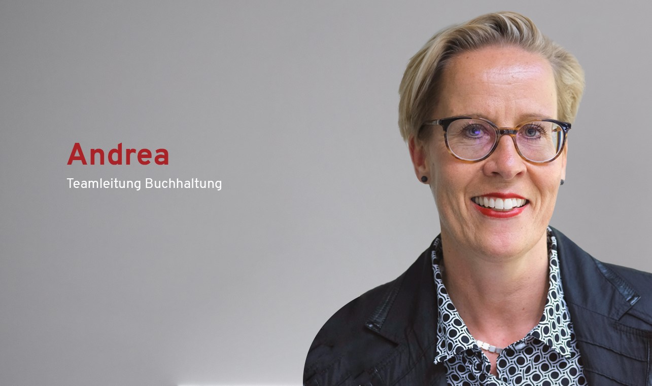 Interview mit Andrea Teamleitung Buchhaltung